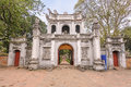Temple of Literature Royalty Free Stock Photo