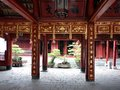 Temple of literature in hanoi vietnam Royalty Free Stock Photos