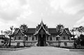 Temple is located in Laos Royalty Free Stock Photography