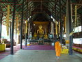 Temple mae chan chiang rai province northern thailand Royalty Free Stock Photography