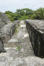 Temple maya Images libres de droits