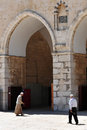 Temple Mount and Al-Aqsa Mosque in Jerusalem Israel Stock Photos