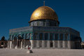 Temple mount in jerusalem mosque archaeology and pray on Royalty Free Stock Photos