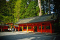 Temple at the mountain of Hakone, Japan Royalty Free Stock Photo