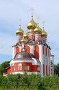 Temple new martyrs and confessors russian cheboksary chuvashia russia Stock Photography