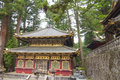 Temple in Nikko Stock Photo