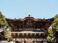 Temple at nikko japan beautiful pavilion world herritage site Stock Images