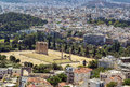 Temple of Olympian Zeus, Athens Stock Photos