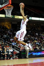 Temple Owls basketball - Rahir Jefferson dunks Royalty Free Stock Images