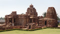 Temple at pattadakal historic in karnataka india Royalty Free Stock Images