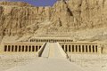 Temple of pharaoh hatshepsut Stock Photography