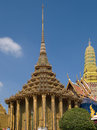 Temple phra mondop in bangkok Stock Images