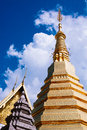 Temple in phrae thailand wat phra that cho hae Stock Photography