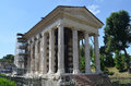 Temple Portunos Boario forum. Stock Photography