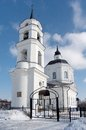 The temple of Prelate Nikolay Chudotvorets Stock Photo