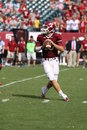Temple quarterback Chris Coyer Stock Photography