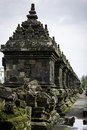 Temple ruins in central java indonesia Royalty Free Stock Images