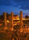 Temple Ruins In Pozzuoli