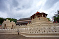 Temple of the Sacred Tooth Relic Stock Image