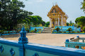 Temple of samui isalnd thailand Stock Images