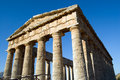 Temple of Segesta, wonderful Sicily Stock Photo