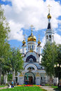 Temple of st tatiana cheboksary chuvashia russia orthodox christian church Royalty Free Stock Photos
