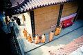 A temple in suburb monks of nanchang jiangxi Stock Photography