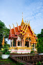 Temple in surin wat prasart srilararm thailand Stock Photo
