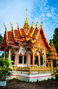 Temple in surin wat prasart srilararm thailand Stock Photos