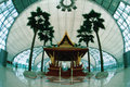 Temple in Suvarnabhumi Airport in Thailand Stock Photography