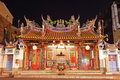 Temple of Taiwan Capital Deity,Tainan City,Taiwan Stock Photos