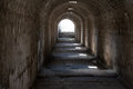 Temple of telesphorus in roman city pergamum underground access to the Royalty Free Stock Photo