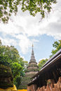 Temple thai in chiangrai thailand Stock Photo