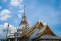 Temple in thai thailand has many beautiful Stock Images