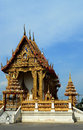 Temple in thailand a beautiful Royalty Free Stock Photography