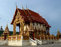 Temple in thailand a beautiful Royalty Free Stock Photos