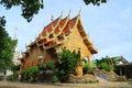 Temple in thailand beautiful thai the landmark of Royalty Free Stock Photos