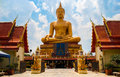 Temple in thailand has many beautiful Royalty Free Stock Images