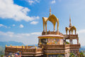 Temple of thailand wat phra dhat phasornkaew in phetchabun the noth Stock Photography