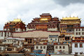 Temple in Tibet Royalty Free Stock Photography