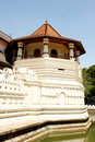 Temple of Tooth of Budda Candy Sri Lanka Royalty Free Stock Images