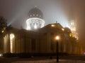 Chrám přeměna katedrála katedrála náměstí v