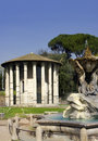 Temple of Vesta - Rome, Italy Stock Photo
