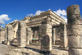 Temple of warriors, Chichen-Itza Royalty Free Stock Images