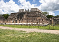 The Temple of the Warriors, Chichen Itza Royalty Free Stock Photo