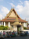 Temple wat pho in bangkok Stock Photo