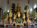 Temple wat pho in bangkok Royalty Free Stock Photos