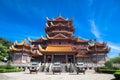 Temple of  Xichan in Fuzhou Royalty Free Stock Photo