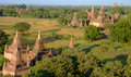 Temples in Bagan Myanmar Royalty Free Stock Photography