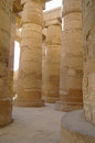 Temples of Karnak (ancient Thebes). Luxor, Egypt Stock Photo